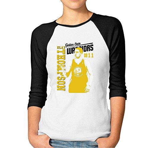Fashion Woman 11# Basketball Player T Shirt Black Size S ()