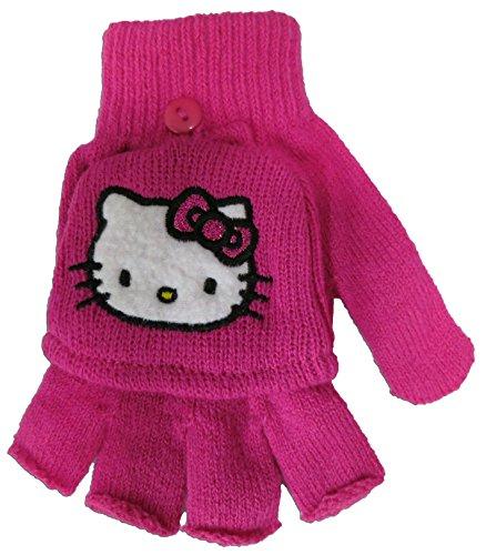 Sanrio Hello Kitty Girl's Pink Glove Set [4012] ()