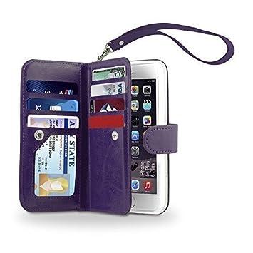 iPhone 6S/6 caso, Gear bestia iPhone 6S/6 Dual tipo cartera funda