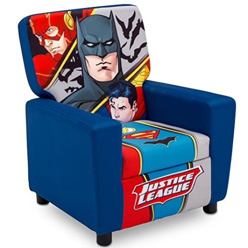 Superhero Dc Comics (Delta Children High Back Upholstered Chair DC Comics Justice League)