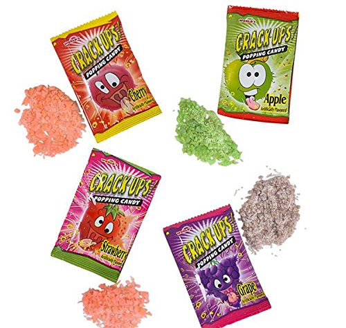 CRACK-UPS POPPING CANDY, Case of 12 by DollarItemDirect