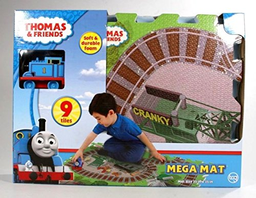 Thomas & Friends - Mega Mat (9tiles) with Vehicle (35in x 35in)