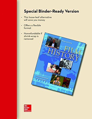 By Kristin Thompson Looseleaf for Film History: An Introduction (3rd Third Edition) [Paperback] (Film History Thompson 3rd Edition)