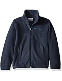 Youth Boys' Steens Mt II Fleece Jacket, Soft Fleece with...