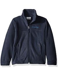 Youth Boys' Steens Mt II Fleece Jacket, Soft Fleece with...