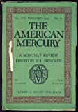 img - for The American Mercury February 1929 book / textbook / text book