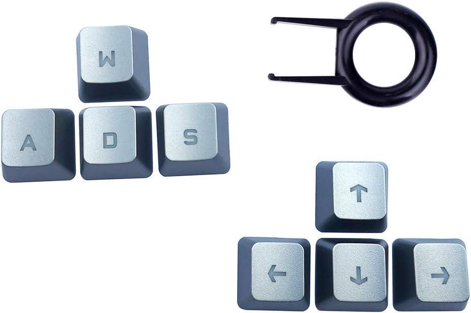 Teclas de flecha de repuesto para teclado Logitech G810, G413, G310, G910, G613 (teclas de arriba a abajo, izquierda y derecha)