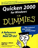 Quicken 2000 for Windows for Dummies, Stephen L. Nelson, 0764506072