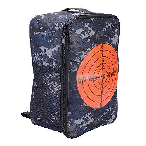 Target Pouch Storage Bag,Multifunctional Shooting Bullet Carry Equipment Bag Kids Target Practice Bag Backpack Case for Nerf Gun N-Strike Games (Kids Gun Case)