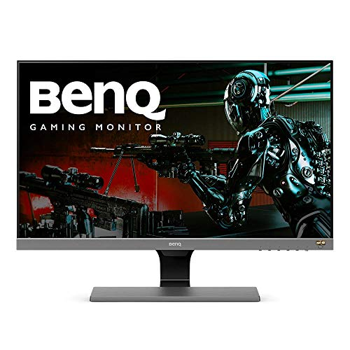 BenQ 27-inch 1080p HDR10 Monitor (EW277HDR), 93% DCI-P3, 100% Rec.709, 4ms Response Time, Eye-Care, Brightness Intelligence Plus, HDMI, VGA, Built-in Speakers ()