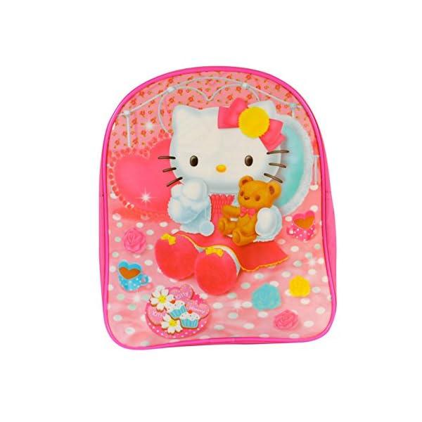 grande vendita miglior grossista disponibile Zaino Asilo Hello Kitty 27×32 x3cm – TravelKit