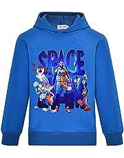 Jongens Space-Jam Pullover Sweatshirt The Child Lange Mouwen Nieuwigheid Kostuum Hoodie