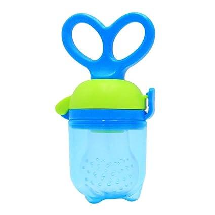 Ogquaton Bebé Chupete de Silicona Creativo Alimentador del Bebé Chupete Herramienta de Alimentación del Bebé Chupete Suave para Alimentos Fruta ...