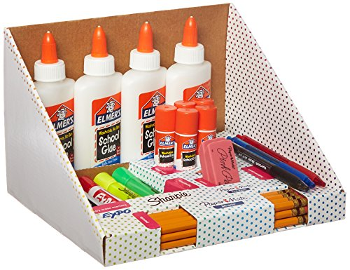 Back to School Supply Kit: Sharpie Highlighters, Paper Mate Pens, EXPO Dry Erase, Elmer's Glue & More, 31 Count (School Kit)