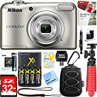 Nikon COOLPIX A10 16.1MP 5x Optical Zoom NIKKOR Glass...