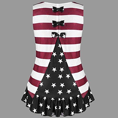 Respctful✿Womens Summer American Ruffles with