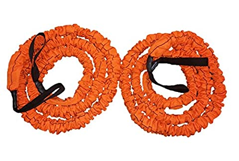 Stroops Son of the Beast Battle Ropes, Orange (77 Lbs. Resistance) 1- Pair (The Beast Slastix Battle Rope)