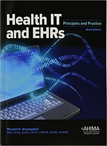 Health EHRs Principles Margaret Amatayakul