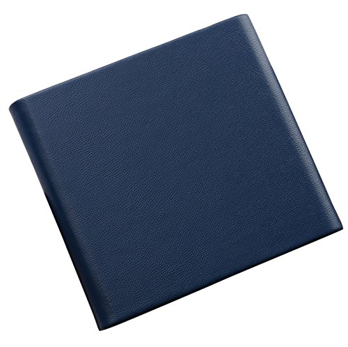 Leather Cigarette Case Metal Box Slim Pocket Holder for 10pcs Cigarette (Blue) by Panegy