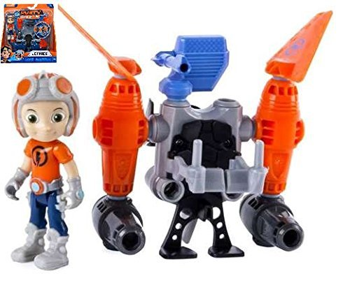 Rusty Rivets Build Me Rivet System - JET PACK Figure Set - Includes Everything Needed to Build Rustys Jet Pack.