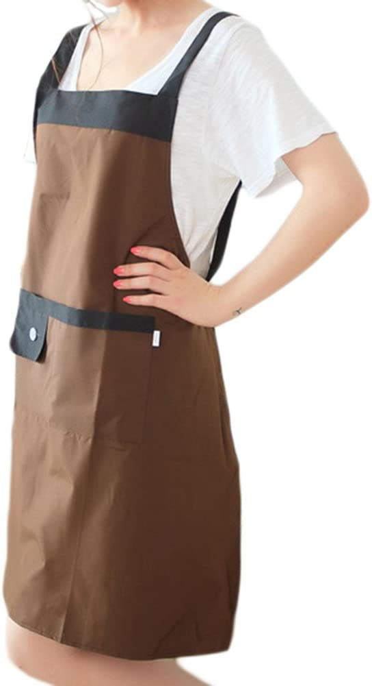 Oyfel Chefs Tablier sans Manches Coton Tissu Longue Qualit/é