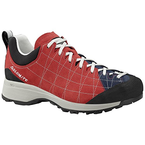 Dolomite Diagonal, Rosso (Fiery Red/Navy Blue), 12 UK