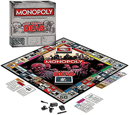 Monopoly The Walking Dead Survival Edition: Hasbro: Amazon.es: Juguetes y juegos