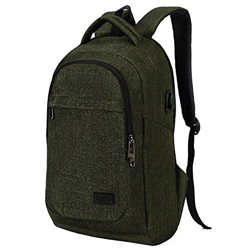 Green Computer Backpacks - 3
