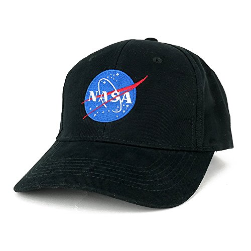 AC Racing NASA Insignia Logo Embroidered Deluxe Cotton Cap (One Size, ()