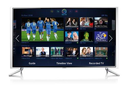 Samsung UE46F6800 46-inch Widescreen 1080p Full HD 3D Slim LED Smart TV with Dual Core Processor (2013 model)