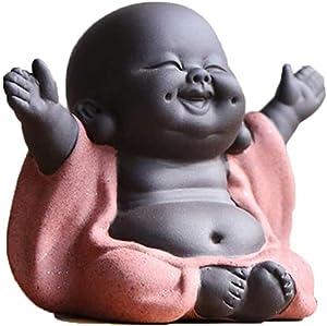 Buddha Statue - Buddha Statue Little - Buddha Statue Baby - Home Decor Car Decor - Laughing Buddha Statue