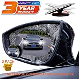 Blind Spot Mirror Car Rear View Mirror Film Waterproof Convex Rear View Mirror Best Blind Spot Mirror HD Glass Frameless Adjustable Round Car Accessories for Cars Trucks Van Motorcycles (round)