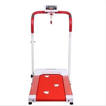 Cintas de correr para Fitness El/éctrica Equipo De Ejercicios Mini Mec/ánica para El Hogar Peque/ña M/áquina para Caminar Plegable Silenciosa Cinta De Co