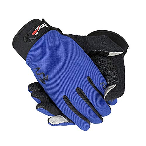 Tactile Amdxd Plein Femmes Cyclisme De Air Sport Gants Bleu Écran 8n8Pxr