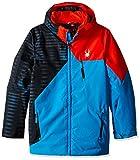 Spyder Boys Ambush Jacket, Size 18, Electric Blue/Space/Electric Blue Print/Rage