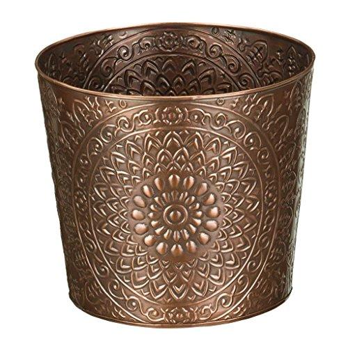 """Regal Art & Gift Medallion Tapered Planter, 8"""""""
