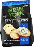 New York Style Bagel Crisps, Plain, 7.2 Ounce