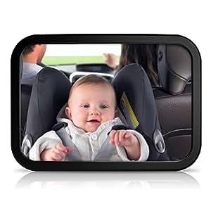 Sunluxy espejo retrovisor para vigilar al beb en el for Espejo retrovisor bebe