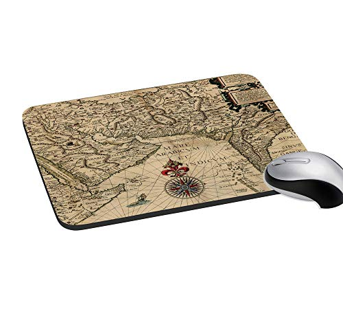 "meSleep India Digitally Printed Mouse Pad Multicolor Gaming Mouse Non-Slip Pad 7.2X8"" Inches"