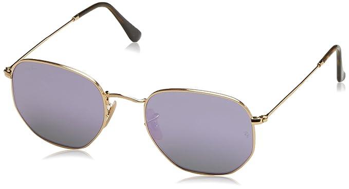 Ray-Ban RB 3548n, Gafas de Sol para Hombre, Gold, 54: Amazon ...