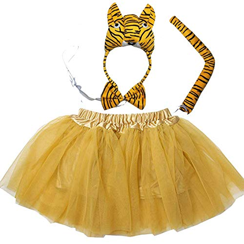 Kirei Sui Kids Animal Costume Tutu Set 3D Tiger for sale  Delivered anywhere in USA