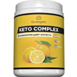 Premium Keto BHB Salts Supplement – Includes Vegan MCT Oil Powder - Beta Hydroxybutyrate Exogenous Ketones (Sodium, Calcium, Magnesium) with MCT Oil for Energy, Focus & Weight Management – Lemonade