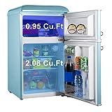 Galanz GLR31TBEER Retro Compact Refrigerator, Mini