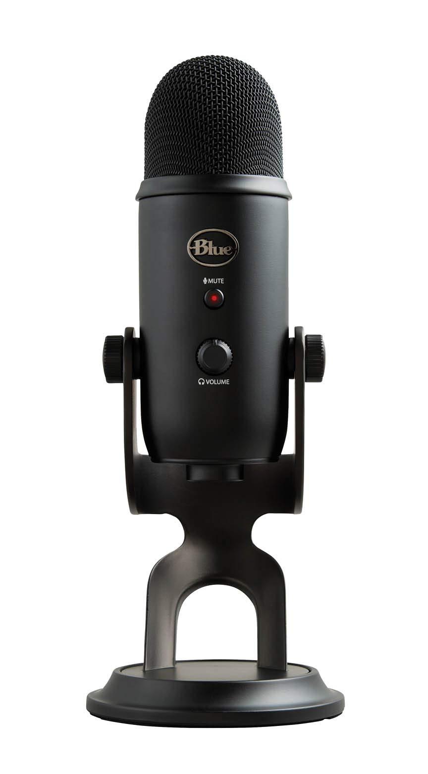 Microfono USB Blue Yeti Studio Professional