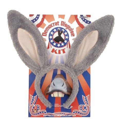 Donkey Masks (Democrat Kit Donkey Costume Accessory Set)