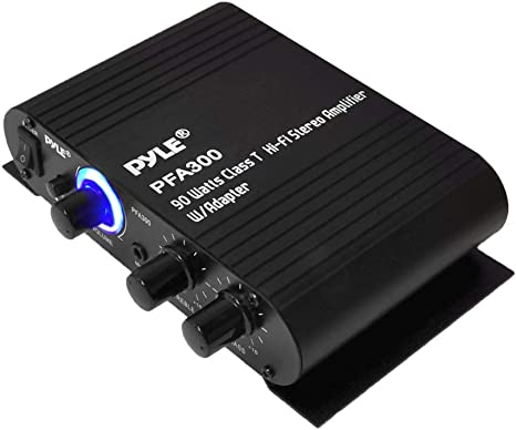 Power Home HiFi Stereo Amplifier 90 Watt Port