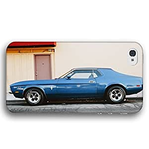 1975 Ford Mustang Fastback Classic Car Diy For Iphone 6 Case Cover Slim Phone Case