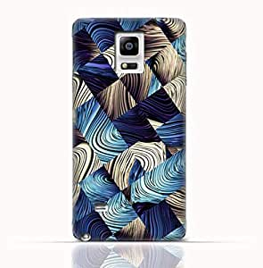 Samsung Galaxy Note 4 TPU Silicone Case with Digital Art Abstract Pattern
