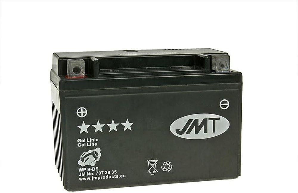 YTX9-BS 12 Volt 1990-1998 Batterie JMT GEL inkl.7.50 EUR Batteriepfand Yamaha XT 600 E H 3TB Bj