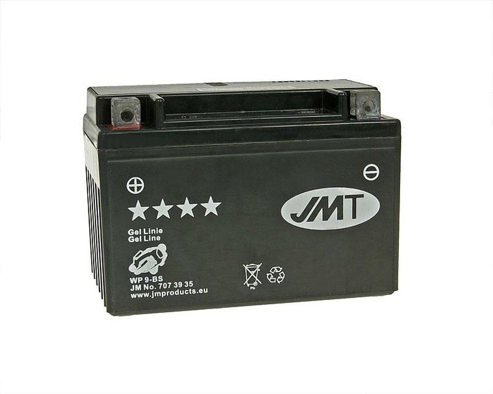 Batterie JMT GEL - YTX9-BS 12 Volt [ inkl.7.50 EUR Batteriepfand ]